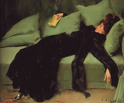 Ramon Casas was a portraitist and graphic designer whose posters and postcards helped to define the Catalan art movement known as modernisme